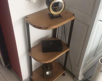 Vintage corner console
