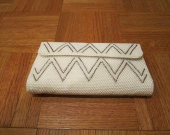 Beaded Purse with Chevron design