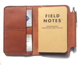 Field notes cover, Field Notes Journal, Moleskin Cover, Personalized Field Notes wallet, Field Notes Wallet, Wallet Organizer