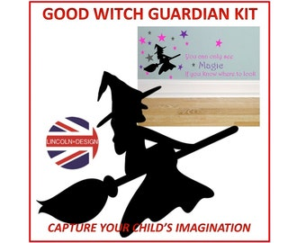 Good Witch Guardian Kit - Girls Bedroom Wall Art Decor Stickers Vinyl