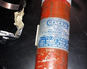 Vintage General Fire Extinguisher