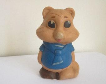 Soviet Vintage rubbe toy,soviet animal toy,vintage rubber toy,doll SSSR,toys from SSSR,USSR rubber toy,squeaker rubbe toy,rare rubber toy
