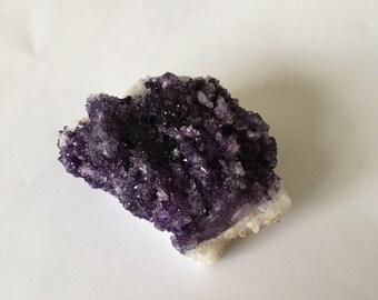 Painted Purple Geode