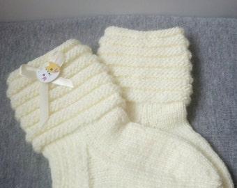 children knitted socks