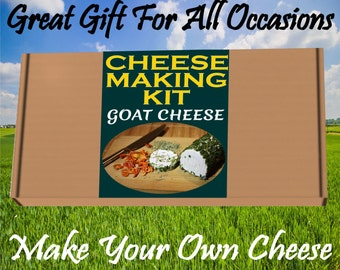 Cheese Making KIT Goat Cheese  Great Gift Present Birthday
