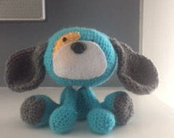 Crochet stuffed puppy, Crochet puppy, Crochet dog, Crochet stuffed dog, Crochet stuffed animal,
