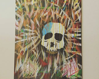 Shattered Bones... on a 16x20 canvas