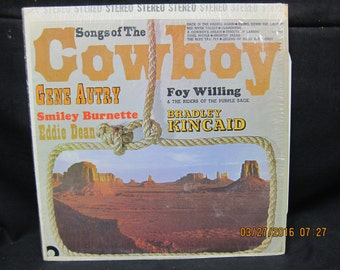 Songs of the Cowboy (Various Artists) - Design Records