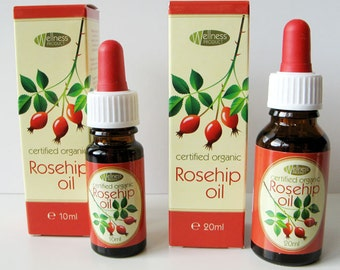 All natural Wild Rose Rosehip seed Oil Cold pressed 100% natural anti age