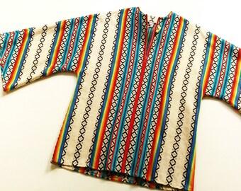 CoaCheLLa VinTage BlouSe tunic 164 XS S HippIe blouse shirt 70s 80s 70s