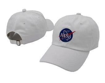 white NASA Baseball cap