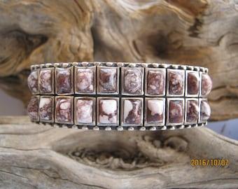 Navajo Wild Horse Turquoise Bracelet