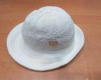 Vintage MCM Legere MCM Bucket Hat MCM Legere Crochet Bucket Hat