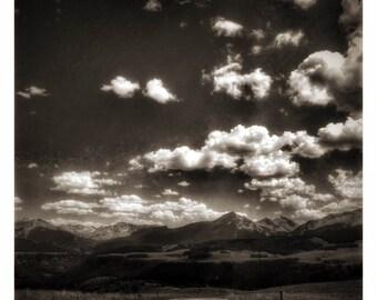 Black & White Sky of Telluride