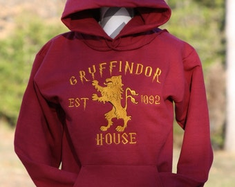Harry Potter Inspired Gryffindor Hoodie