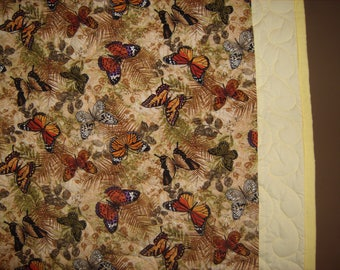 Butterfly Couch or Twin Size Quilt