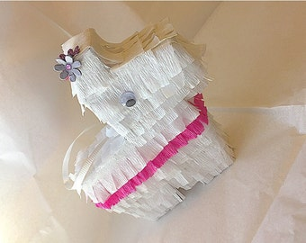 Flower Girl Proposal will you be my flower girl junior bridesmaid proposal flower girl gift mini pinata gift bridal party gifts floral