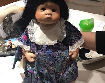 Carolyn Creations hawaiin doll