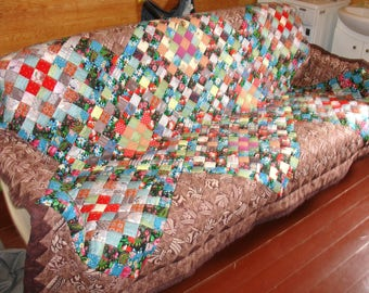 Handmade Queen Quilts - Patchwork Quilts - King Quilts - Quilts - Queensize Quilt-King size quilts-Homemade quilts