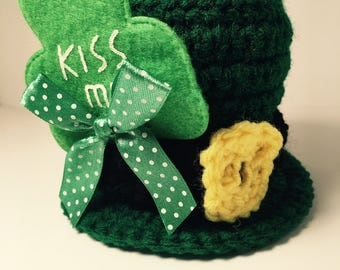 St. Patrick's Day Mini Top Hat, Leprechaun Mini Top Hat