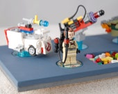 Custom Wooden Lego Dimensions Stand / Display - Holds 8 Figures & 10 Vehicles
