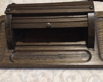 Gentlemens Dresser Valet Jewelry box Storage  change  valet