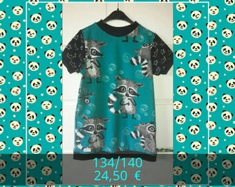 Great raccoon shirt Gr. 134/140 reduced attention