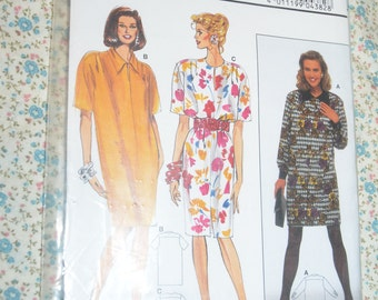 Burda 4382  Misses Dress Sewing Pattern - UNCUT - Size 12 14 16 18 20 22 24
