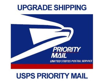 Upgrade to Priority Mail for Shipping