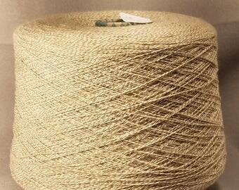 Two ply wool yarn