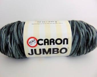 Dalmation -  Caron Jumbo variegated Yarn 100% acrylic worsted weight - 4052