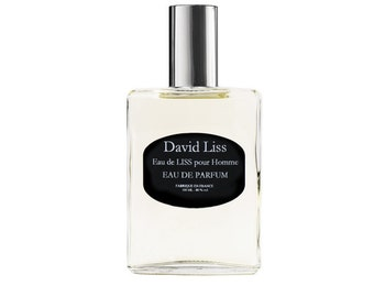 WATER of LISS, water perfume man 100 ml spray Collection David LISS