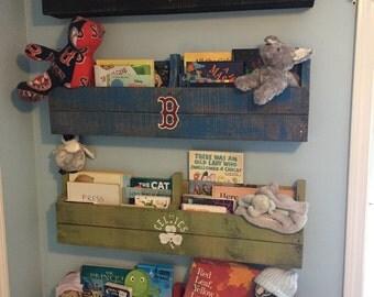 Sports Pallet Bookshelf