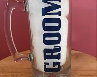 SET OF 4 Groom/Groomsman 20oz Mugs