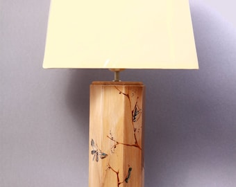 "Painted table lamp ""Malindi"""