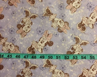 Minnie Mouse Fabric-By-The-Yard