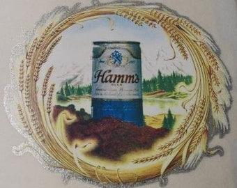 Hamms Beer Vintage Transfer