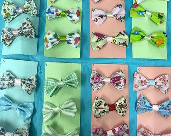 Hair bows and bobbles sets