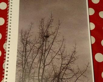 Spiral-bound notebook: Nest