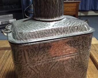 Graniteware Lunch Bucket