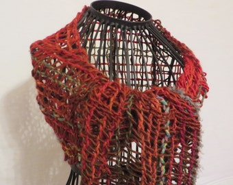 handwoven scarf, leno-lace, net scarf, sequins, extraordinary, casual scarf
