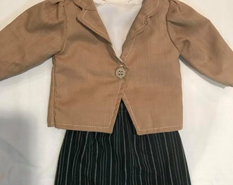 Business Suit for American Girl or Our Generation doll