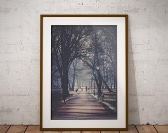 Ladies walk, Poland - Physical fine art photography print