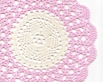 Crochet Lace Doily Small Crocheted Doilies Housewarming Gift Home Wedding Decor Handmade Decoration 100% Cotton Textile Art Vintage Interior