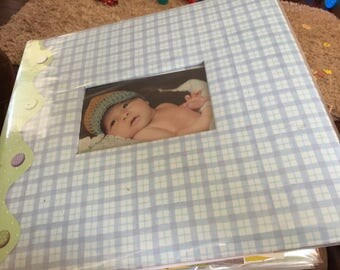 Baby Boy Custum made Scrapbook