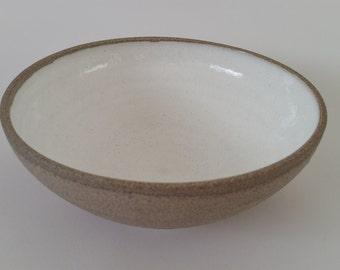 Stoneware bowl.
