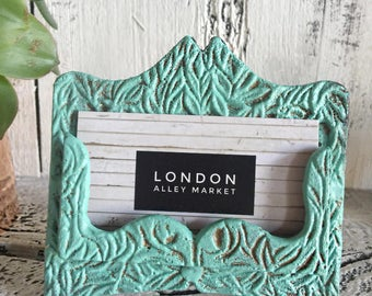 Vintage Style,  Shabby Chic Business Card Holder