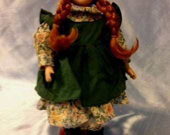 Anne Of Green Gables Porcelain Doll Heritage Edition Avonlea Traditions