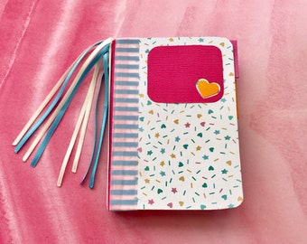 Small Journal- Baby Book, Diary, Junk Journal