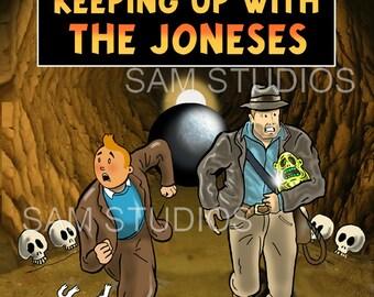 Tintin Keeping Up With The Joneses
